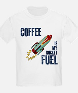 Coffee is my Rocket Fuel T-Shirt