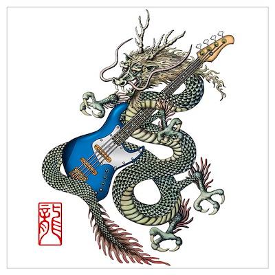 dragon bass Poster