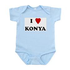 I Love Konya Infant Creeper