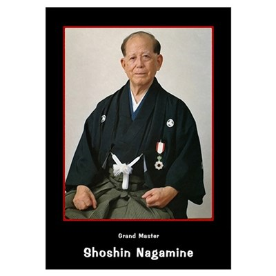 Shoshin Nagamine Shorin Ryu Matsubashi Ryu Poster