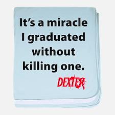 Dexter - Graduated baby blanket