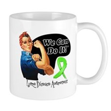 Lyme Disease We Can Do It Mug