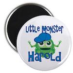 Little Monster Harold Magnet