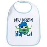 Little Monster Harold Bib