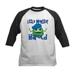 Little Monster Harold Kids Baseball Jersey