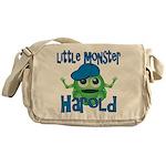 Little Monster Harold Messenger Bag