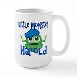 Little Monster Harold Large Mug