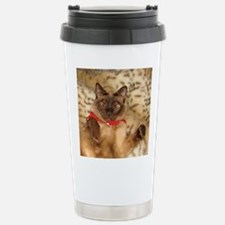 FPG Xmas Cat III Stainless Steel Travel Mug