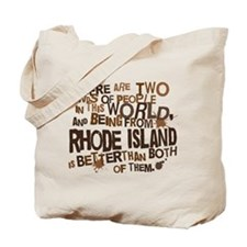 Rhode Island (Funny) Gift Tote Bag