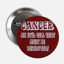 "Cancer Awareness 2.25"" Button"