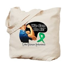 Liver Disease We Can Do It Tote Bag