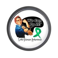 Liver Disease We Can Do It Wall Clock