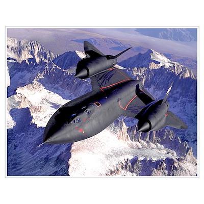 NASA SR-71 Blackbird Poster