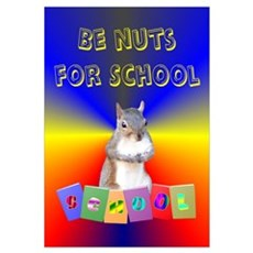 Nuts for School Framed Print