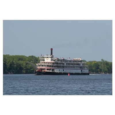 Delta Queen Steamboat, Canvas Art
