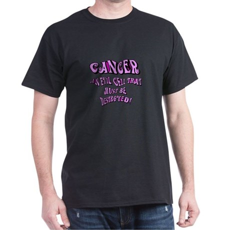 Cancer Awareness Dark T-Shirt