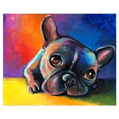 French Bulldog 5 Poster