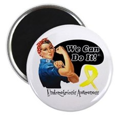 Endometriosis We Can Do It Magnet
