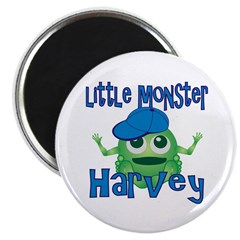 Little Monster Harvey Magnet
