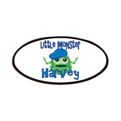 Little Monster Harvey Patches