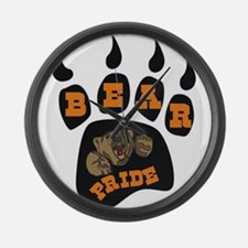 Bear Pride Large Wall Clock