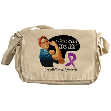We Can Do It Messenger Bag