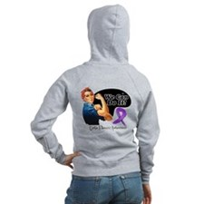 We Can Do It Cystic Fibrosis Zip Hoodie