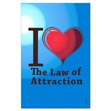 Love the Law of Attraction Poster