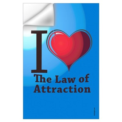 Love the Law of Attraction Wall Decal
