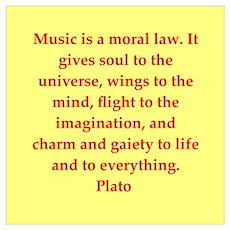 Wisdom of Plato Poster