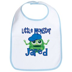 Little Monster Jared Bib