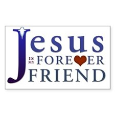 Jesus is My Forever Friend Decal