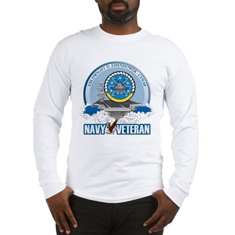 CVN-69 USS Eisenhower Long Sleeve T-Shirt