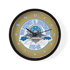 CVN-69 USS Eisenhower Wall Clock