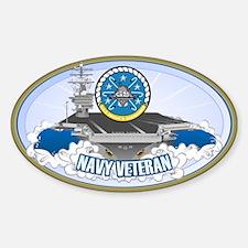 CVN-69 USS Eisenhower Sticker (Oval)