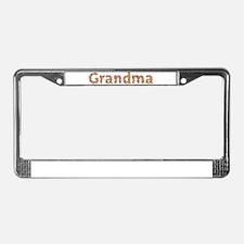 Grandma Fiesta License Plate Frame
