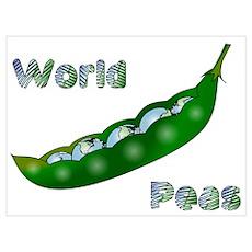 World Peas Poster