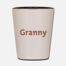 Granny Fiesta Shot Glass