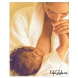 Breastfeeding Wrapped Canvas Art