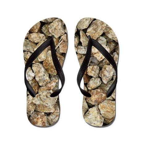 Walk on Rocks Flip Flops