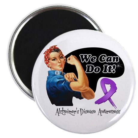 Alzheimers We Can Do It Magnet