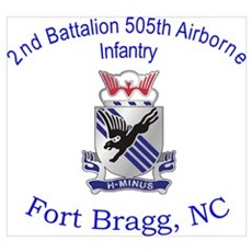 2nd Bn 505th ABN Poster