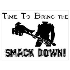 Smack down Poster