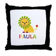 Paula the Lion Throw Pillow