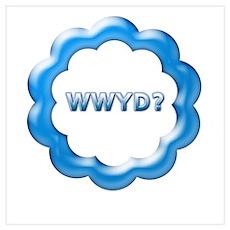 W W Y D ? Poster