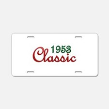 Cute Vintage 1953 Aluminum License Plate