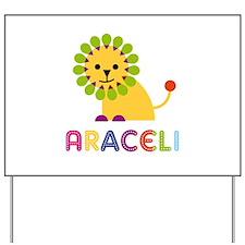 Araceli the Lion Yard Sign
