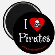 I (heart) Pirates Magnet