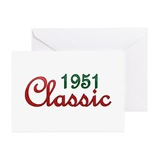 Unique 1951 Greeting Cards (Pk of 20)