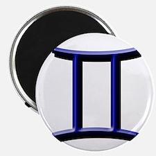 Gemini Blue Magnet